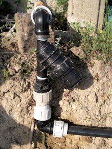 Filtro per le acque della cisterna