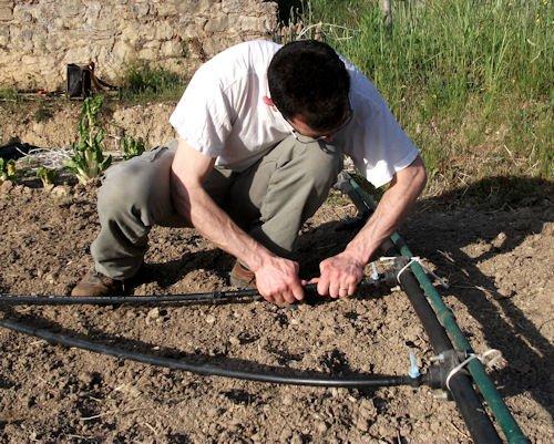 Microirrigazione realizzarione impianto domestico for Microirrigazione orto