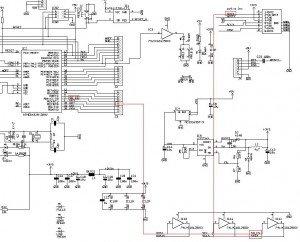 Schema elettrico collegamento micro sd