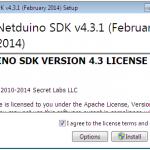 Installazione Netduino SDK