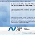 Installazione Micro Framework 4.3