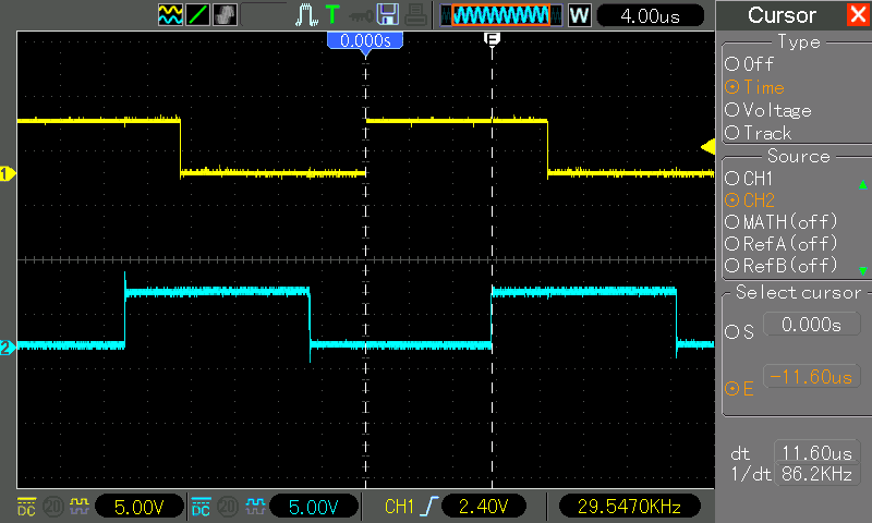 Spedd test Arduino UNO