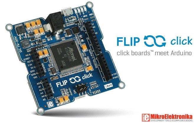 Flip&Click schede di espansione click boards per arduino